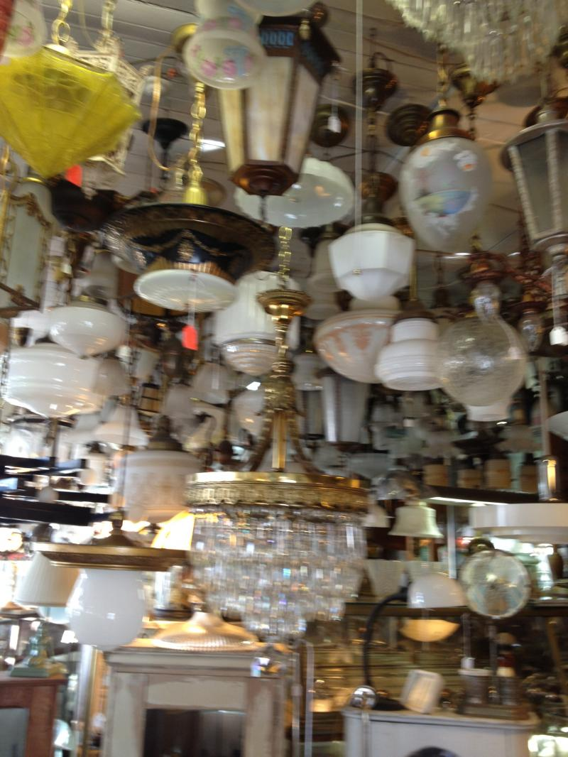 Antiquing in Saugerties